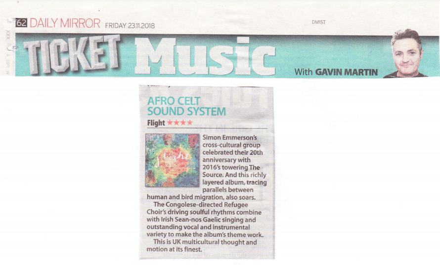 5 stars amani choir review
